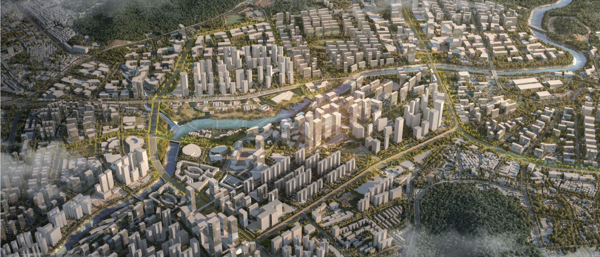 Longgang Riverpark Shenzhen
