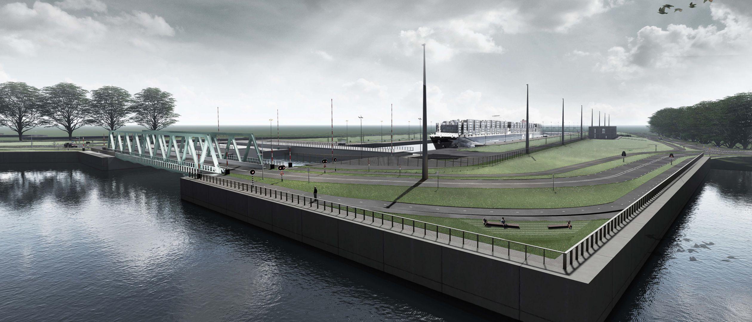Landschapsplan Nieuwe Sluis Terneuzen (NST) , Terneuzen